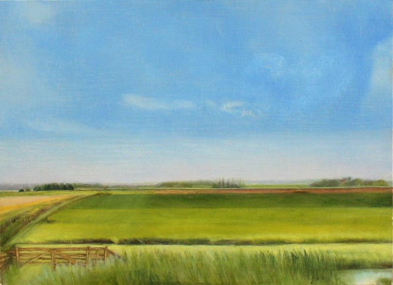 'Texel', 2009- – olieverf/paneel (24 x 33)